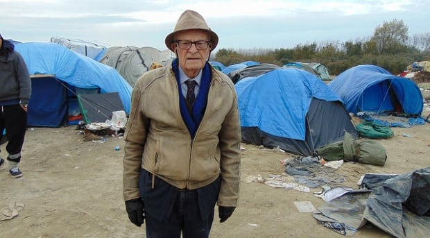 Harry Leslie Smith Calais Jungle