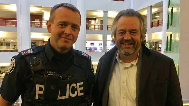 Sgt. Brett Moore, spokesperson for Toronto police Traffic Services, and Brad Ross, spokesperson for the Toronto Transit Commission, say changes on King Street are having a major effect on traffic and commute times.
