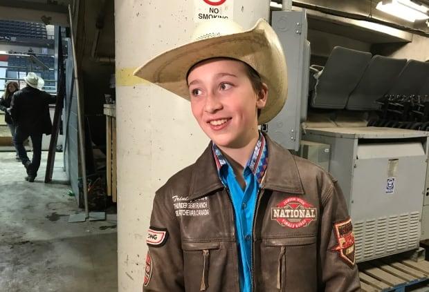 Trinity Bear Sask rodeo youth