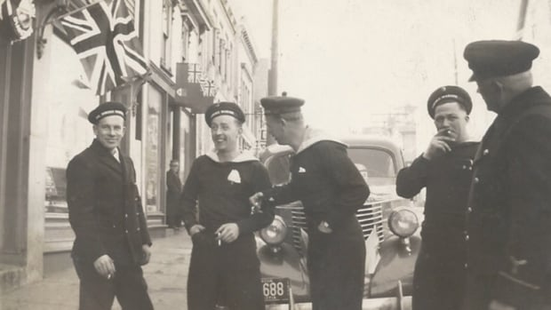 Norwegian sailors were housed at Camp Norway in Lunenburg. This photo is from the collection of Robert Folvik, son of John Folvik.