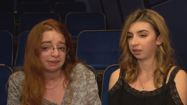 Katie Atkinson and Vanessa Wiens, both 19, are best friends who met through the craniofacial program at Sick Kids hospital in Toronto.  They say the movie Wonder hit home, realistically portraying the bullying they went through growing up with facial differences.