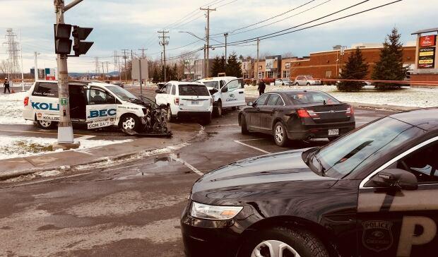 Gatineau collision Nov. 21, 2017