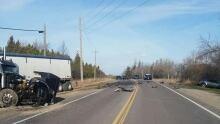 Crash on Highway 124