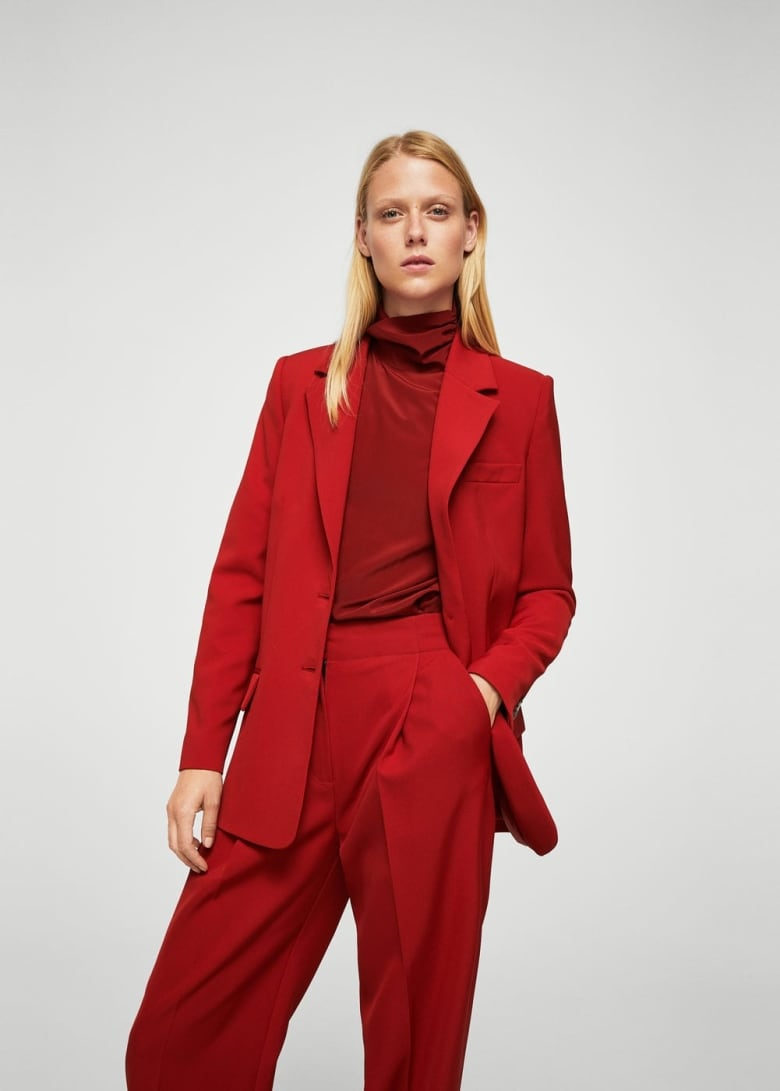 82a29a52fcb This is a two-for-one  the red suit. Menswear is hot trend right now
