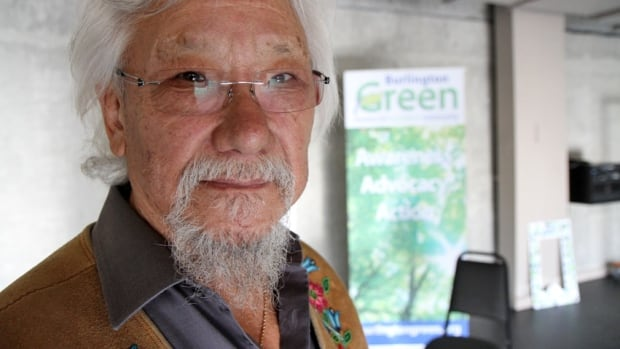 """""""I believe if we give nature a chance, she will be much more forgiving than we deserve,"""" says David Suzuki, who spoke in Burlington Tuesday. But Earth's environmental issues are """"very, very urgent."""""""