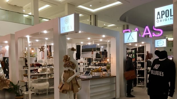 Retail as a Service, or RAAS, is a micro mall inside West Edmonton Mall with local vendors from Edmonton and surrounding areas.
