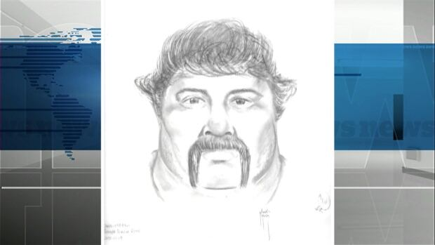 Police released this composite sketch Tuesday of a man wanted for pointing what appeared to be a long-barrelled firearm at a truck driver on Highway 40.