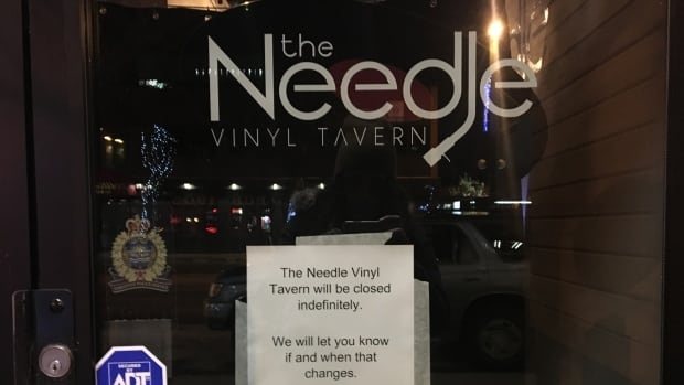 The Needle Vinyl Tavern is closed indefinitely after allegations of sexual harassment surfaced.