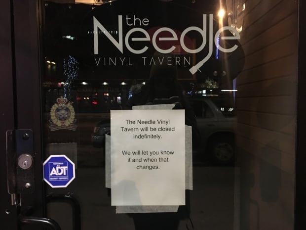The Needle closes