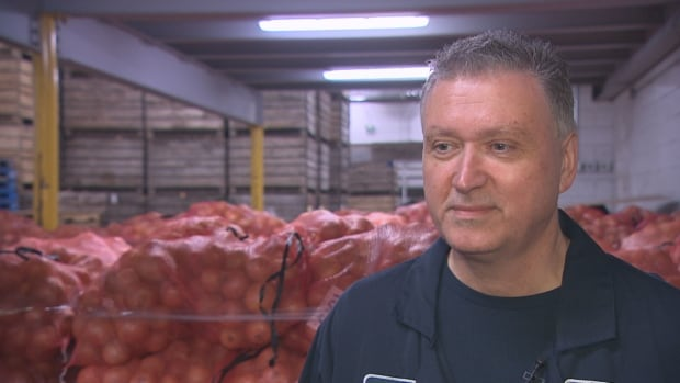 Tony Tomizza, general manager of Dominion Farms, says donating produce he can't sell is 'a natural thing to do.'