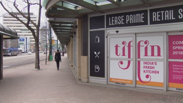 Tiffin India's Fresh Kitchen has signed a lease for a 5,000 sq. feet bay in the prime retail spot on Jasper Avenue and 104th Street