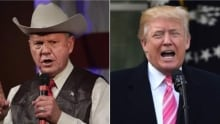Donald Trump on Roy Moore: Voters shouldn't support his opponent