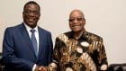 South Africa Zimbabwe Political Turmoil