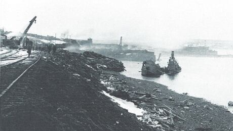 is a mystery shipwreck connected to the halifax explosion