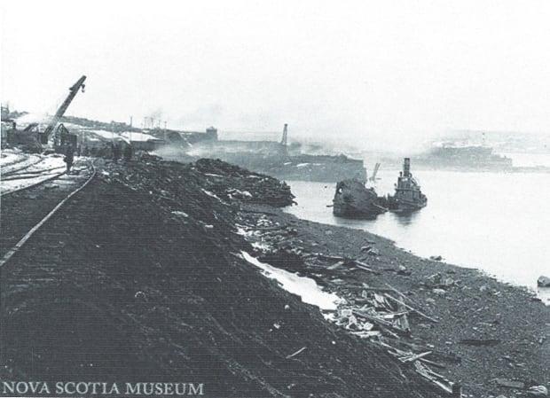 Pier 6 after Halifax Explosion