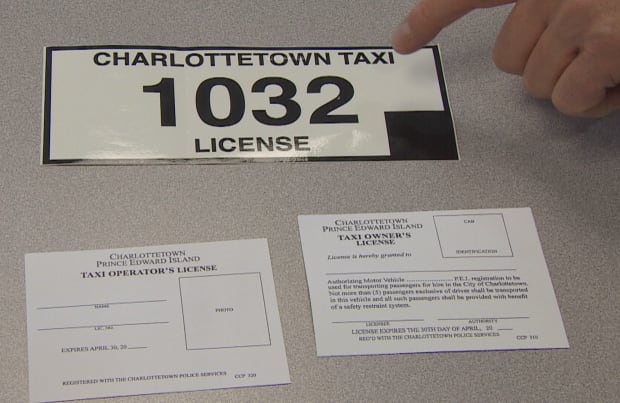 Charlottetown Taxi Licence