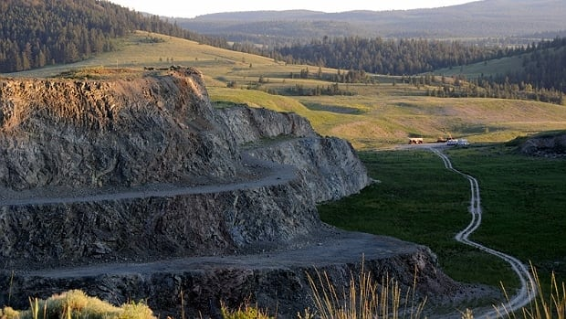 The proposed Ajax Mine would have been located south of Kamloops.