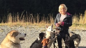 Missing dog walker Annette Poitras found 'alive and well' in Coquitlam, B.C., after massive search