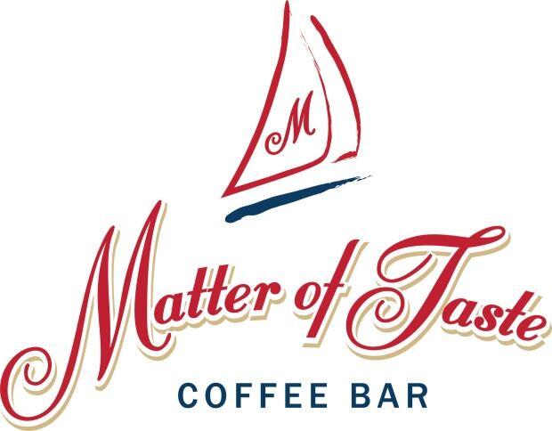 Matter of Taste coffee bar logo