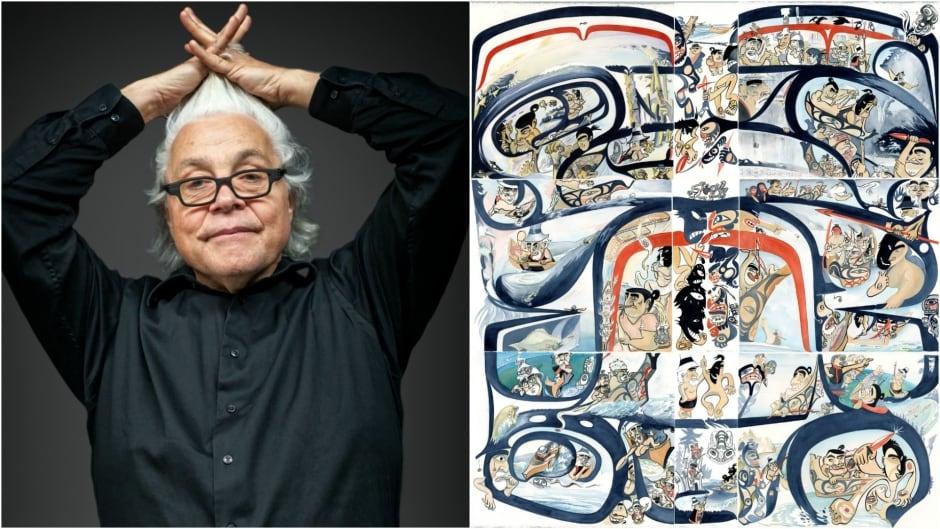 Haida artist Michael Yahgulanaas spreads a message of peace in his third novel.