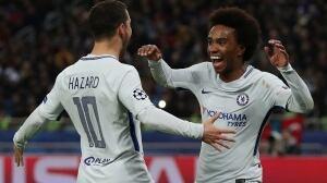 Champions League Chelsea Willian Hazard