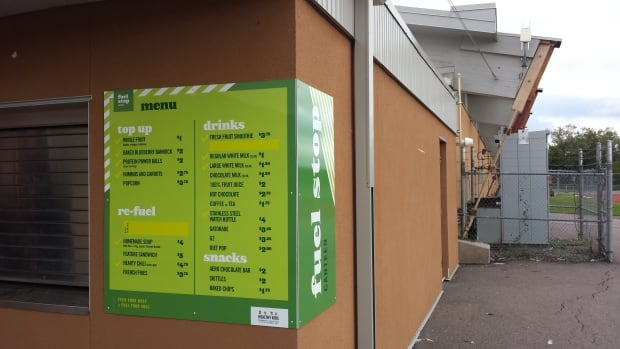 New Fuel Stop program is replacing up to 70 per cent of canteen menus with healthy food options. The program is piloting at the Delaney arena.