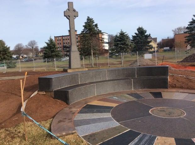 Irish settlers monument repaired 1
