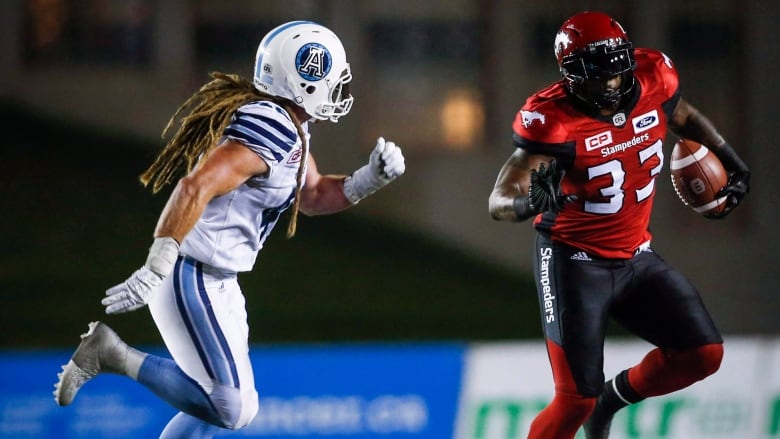 Dreaded D Argos Players Draw Strength From Hairstyle Cbc Sports