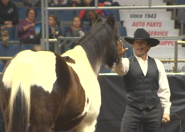 Tommie Turvey at Western Canadian Agribition