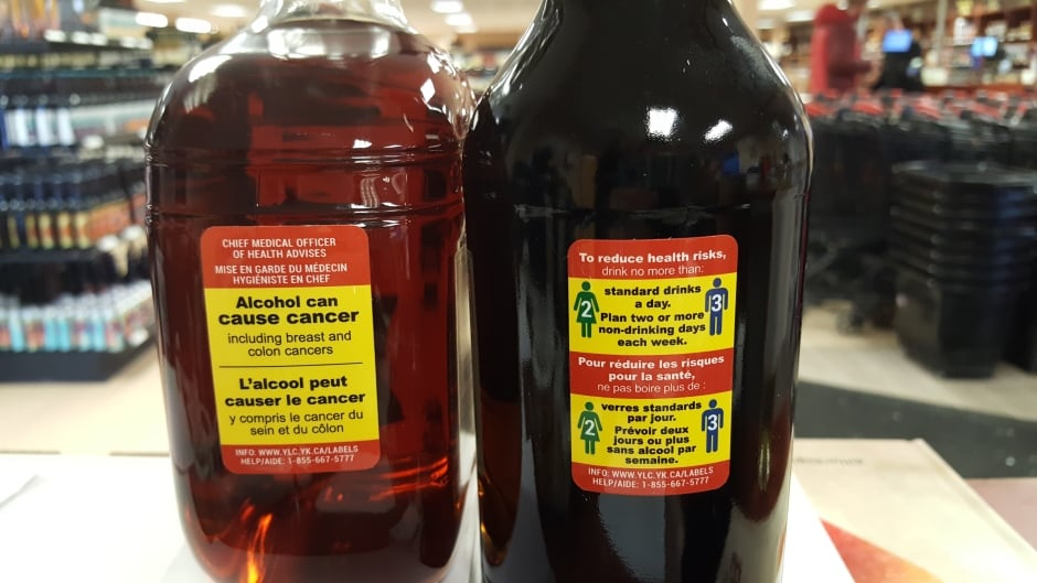 New Booze Labels In Yukon Warn Of Cancer Risk From Drinking Cbc News