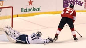 Panthers' Bjugstad scores 'em, Luongo stops 'em in win over Leafs