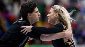 Gilles and Poirier hope to solve the Shib Sibs at Skate America