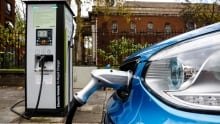 Electric vehicle charged