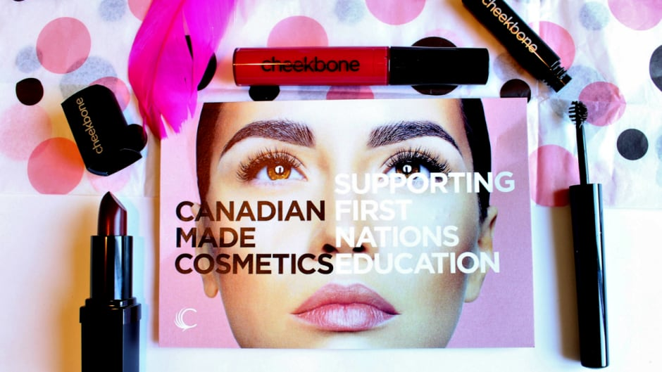 Cheekbone Beauty gives 10 per cent of their profits to Shannen's Dream, a campaign that supports First Nation education.