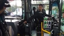 BC Transit driver tests new protective door