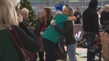 WestJet miracles of Christmas