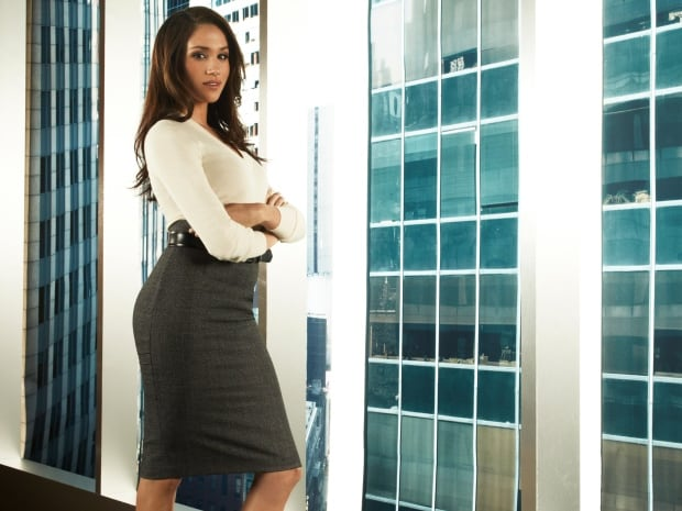Meghan Markle as Rachel Zane SUITS Season 1 2011