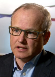 Political strategist Stephen Carter laid out a plan for the Alberta Party