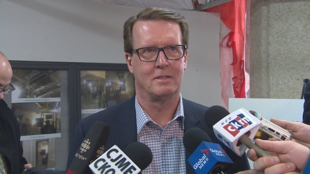 Mayor Michael Fougere said he needs clarification on the national homeless strategy in order to move forward with homelessness initiatives in Regina.