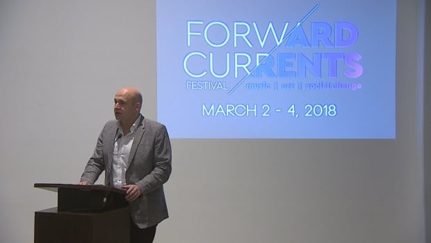 RSO music director Gordon Gerrard announced details Thursday about the Forward Currents Festival, which will focus on truth and reconciliation.