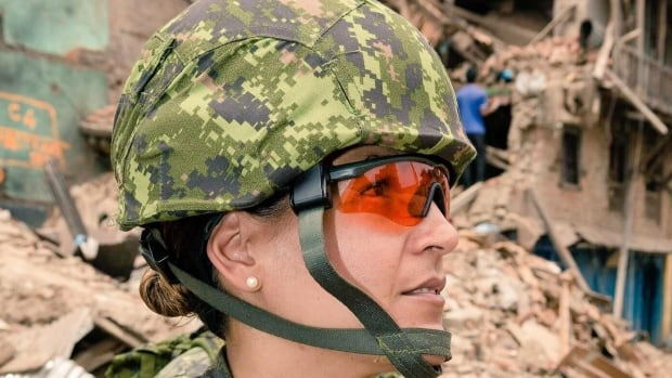 Lt.-Cmdr. Kelly Williamson was part of the Canadian Armed Forces disaster response teams sent to help the people of Haiti and Nepal after violent earthquakes.