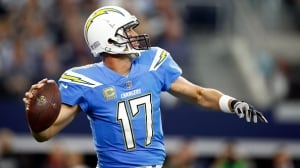 Chargers feast on Cowboys for 2nd-straight blowout win