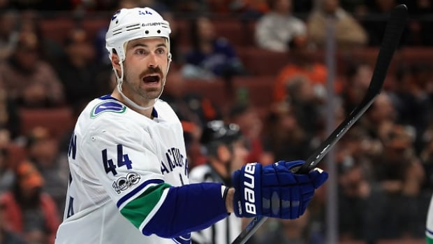 Vancouver's Erik Gudbranson has already begun looking at the standings daily.