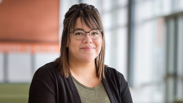 Kourtney Boucher graduated Tuesday from the University of Alberta with a bachelor's degree in science.