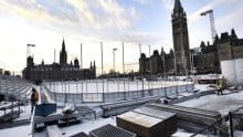 Cost of the Canada 150 ice rink too high?