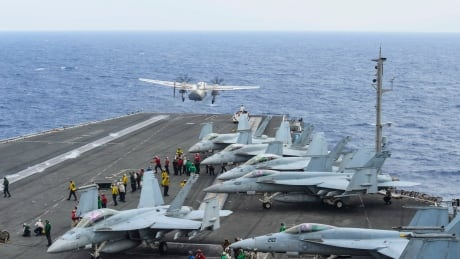 U.S. navy ends search for 3 sailors missing after plane crash