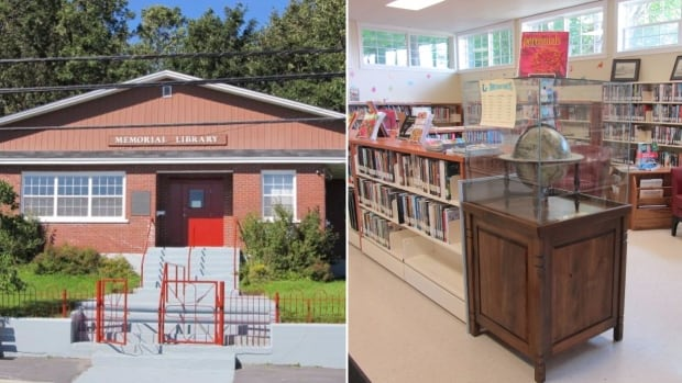 The Harbour Grace Memorial Library was broken into Wednesday by thieves who stole cash and ransacked the premises.