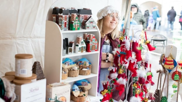 The open-air Victorian Christmas Market in Charlottetown runs all weekend.