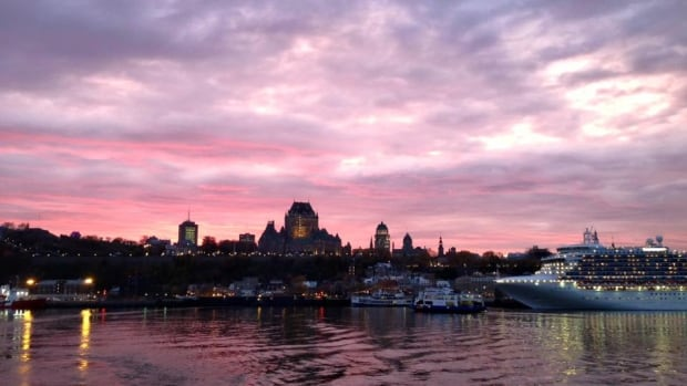 Could you one day gaze across the Yangtse River and see the skyline of Old Quebec?