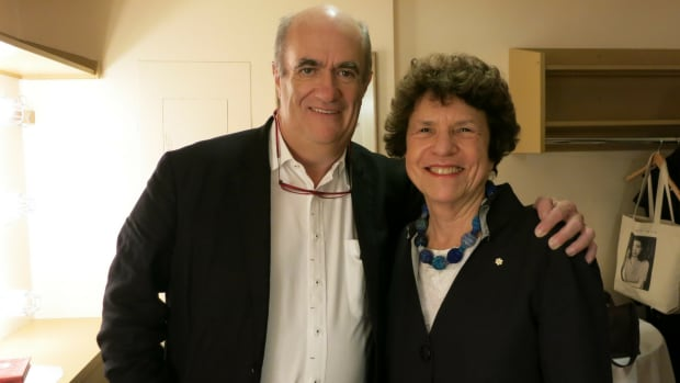 Colm Tóibín and Eleanor Wachtel